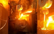 tapping-molten-metal