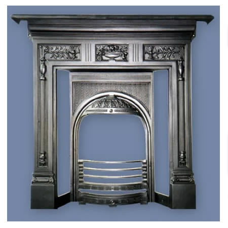 Cast Iron Fireplace Durham Combination